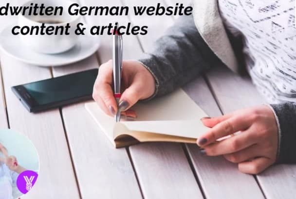 write 250 words German HQ website content in 48 hours