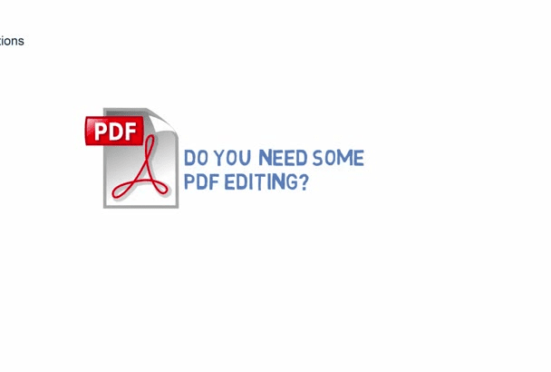 enjoyably create a fillable PDF form for you or make any edits