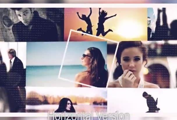 do this ELEGANT promo video intro