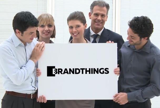send 5 professional logo reveals