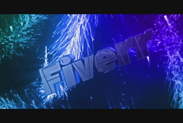 design an INSANE Colorful 3D Youtube Intro
