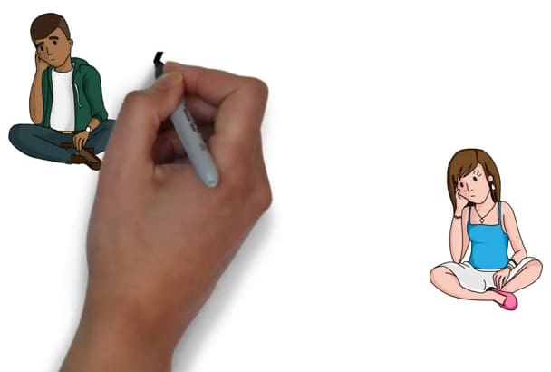 make best Whiteboard Animation Video