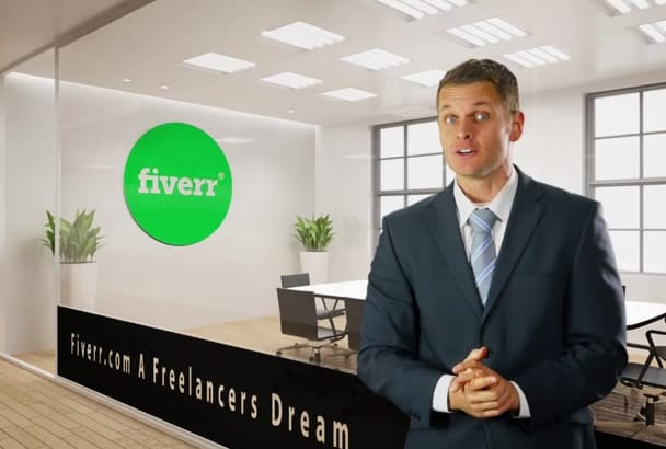 be your SPOKESMAN in a free Branded Office Background