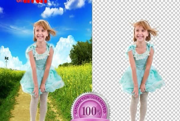 remove background of 15 images Professionally