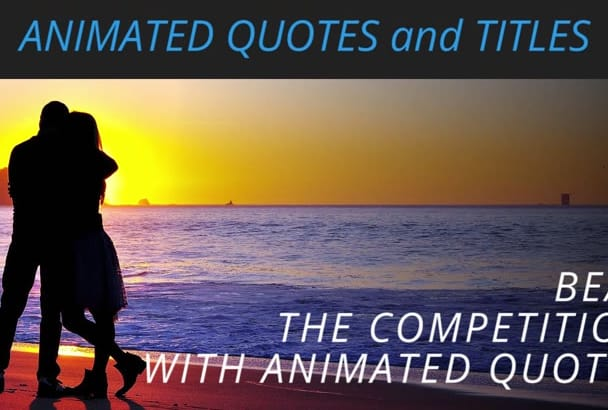 create animated video quotes