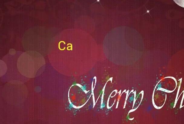 make card for Christmas