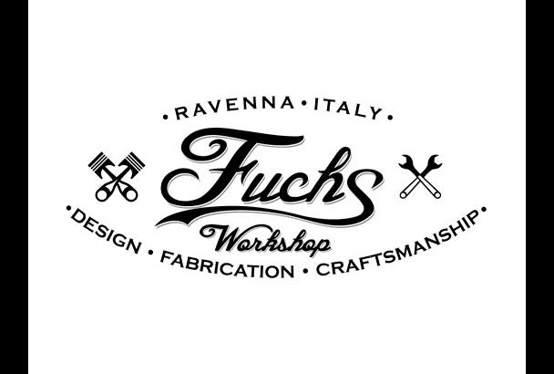 create a vintage logo or label