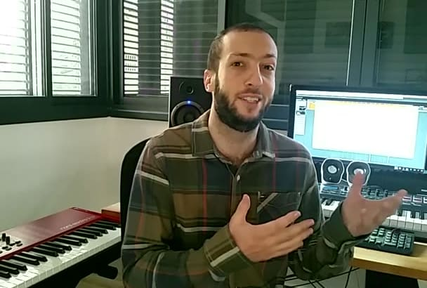 record PRO piano or synth or guitar or bass for your song