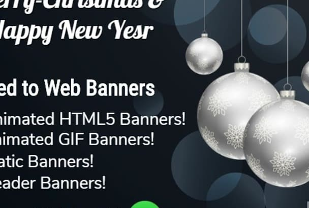 do Animated HTML5 Banners ONE Day