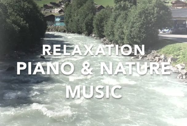 make Original Piano with Nature Music