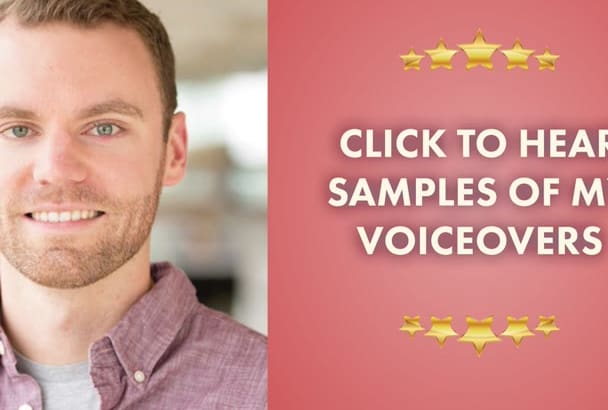 record a PRO male voiceover in 48 hours