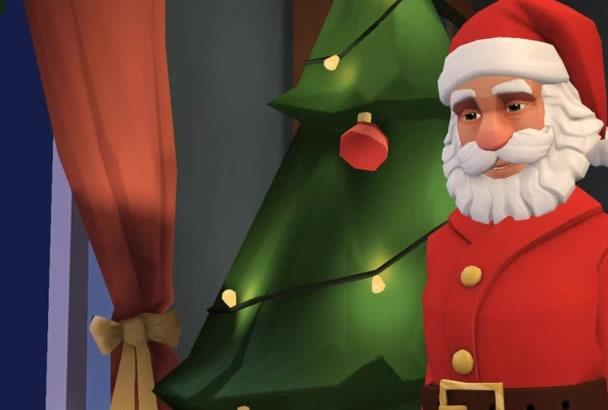 Make santa claus christmas video greeting by kristinj1 make santa claus christmas video greeting m4hsunfo
