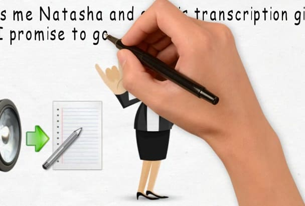 transcribe 15 mins of English audio or video