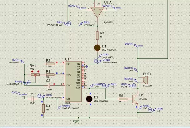 design and simulate your electronic circuit
