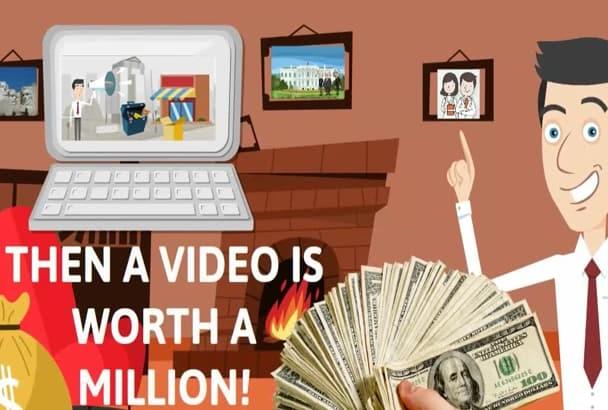 create Epic Promo Animated Explainer Video