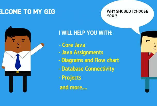 do any kind of java assignment, programming and homework