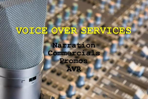 deliver your 200 word Voice Over today