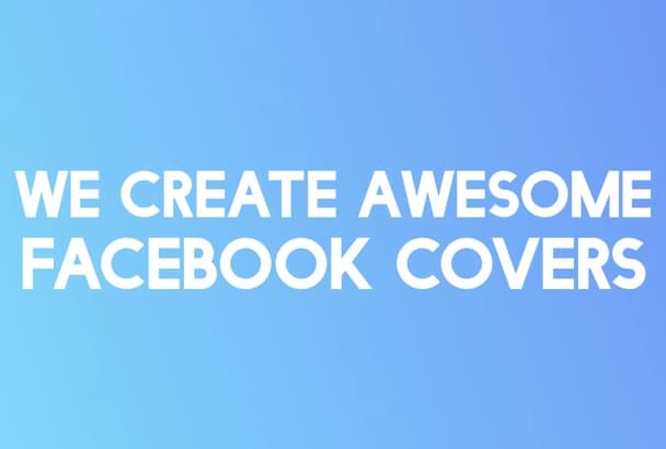 do beautiful Facebook covers in just 24 hours
