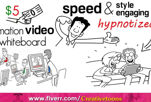 create a Professional Whiteboard Animation Explainer Videos