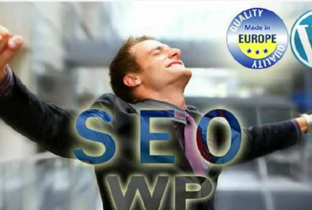 seo optimize your WordPress Website