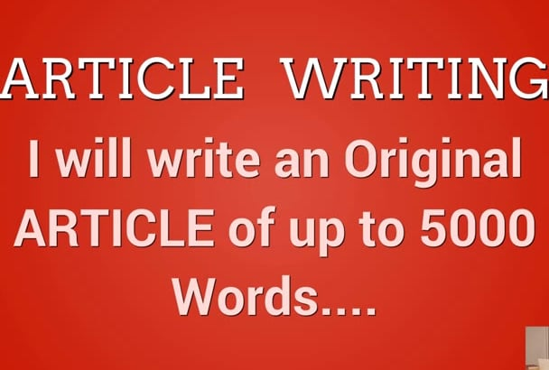 write PROFESSIONAL Articles 500words in 4 hours or less