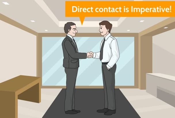 provide recruiting contacts to use for your job search