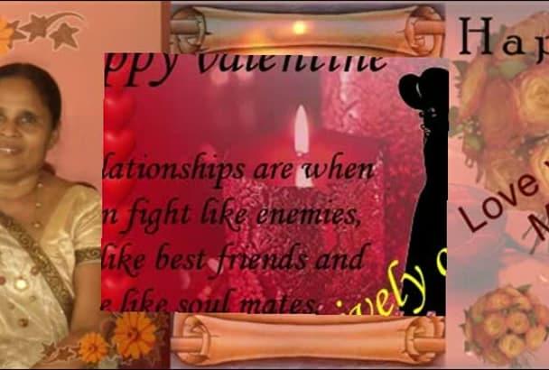 design Greetings unique card Photo