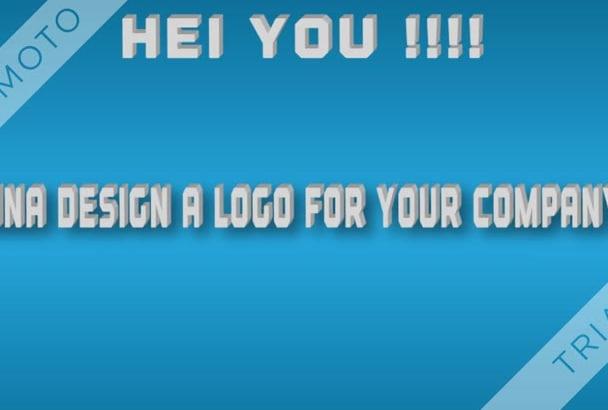 design an unique logo for you