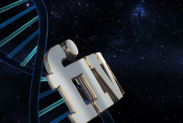 create a dna style intro available only on fiverr