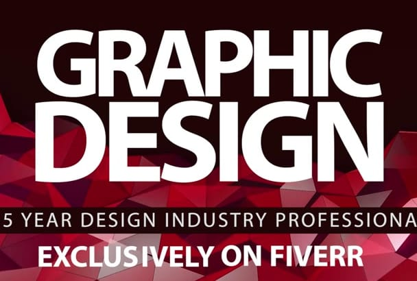 provide AMAZING Graphic Design for your project