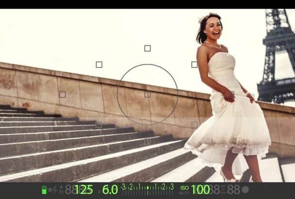 create Photoshooting video slide