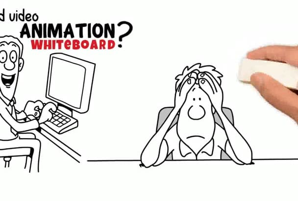 create video whiteboard animation