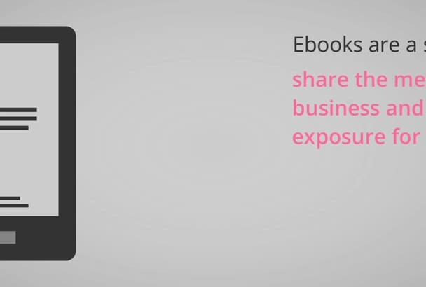 professionally write eBook on any Niche