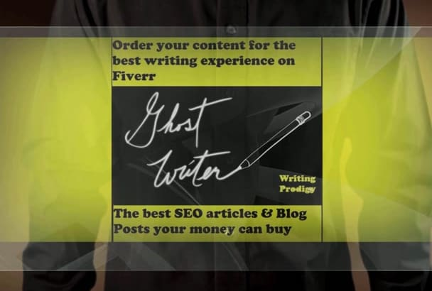 craft amazing 600 words SEO article or blog post
