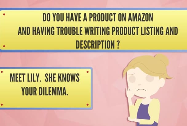 write clever, compelling product listing and DESCRIPTION