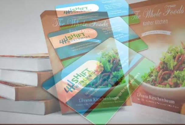design creative, professional Book and ebook cover