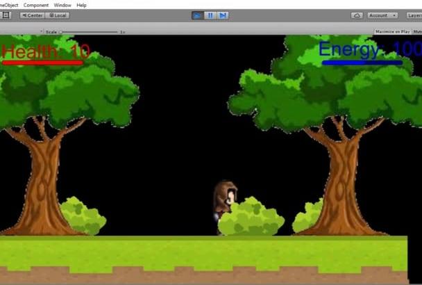 program 2D sprite animation using Unity 3D