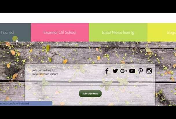 design a nice background for your weebly or wix website
