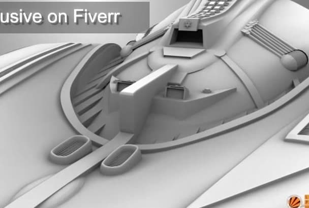 create a 3d model of your concept