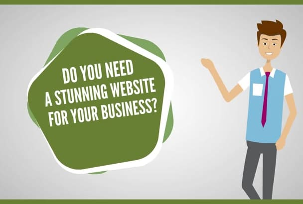 make simple professional WEBSITE to your Local Business