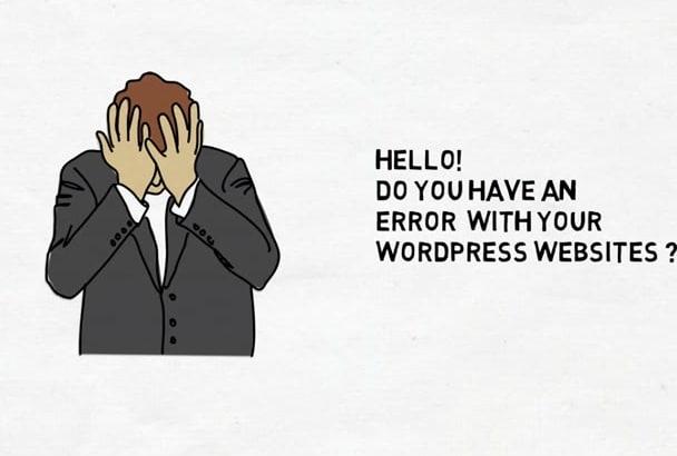 fix WordPress issues fast
