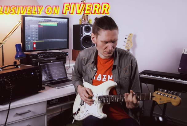 record a high quality electric guitar track for your project