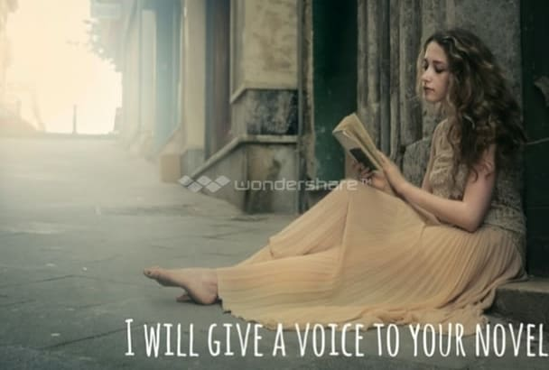 give a voice to your novel