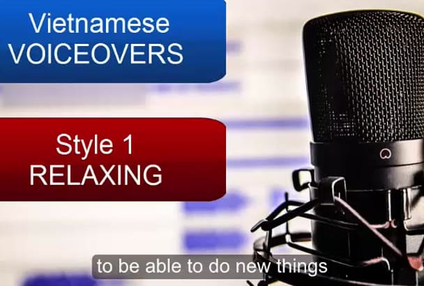 record voiceover in Vietnamese