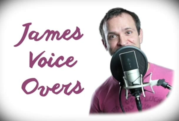 record a Youthful American Male Voiceover Narration