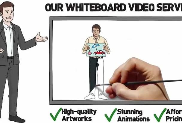 create Awesome whiteboard animation
