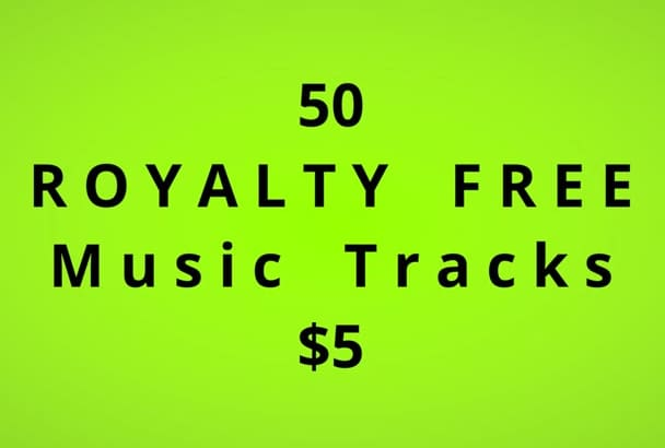 send 50 royalty free mp3s for your productions
