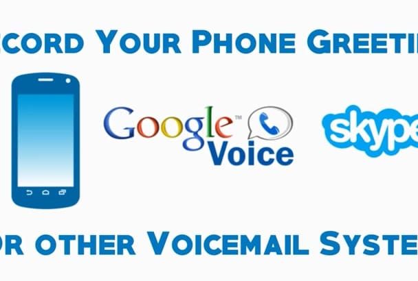 Record your voicemail greeting to your phone or google voice by record your voicemail greeting to your phone or google voice m4hsunfo