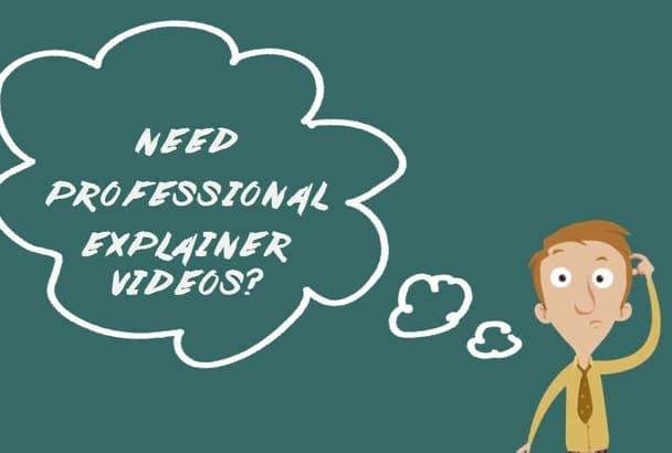 design professional quality explainer videos