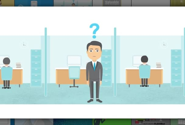 create a high quality custom animated explainer video